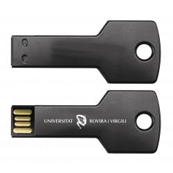 USB 16 GB en forma de clau